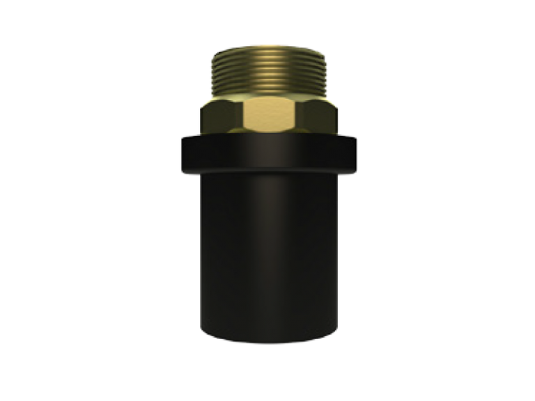PE-Pirinç (MS 58) – Metal Geçiş Adaptörü (Dış Dişli)
